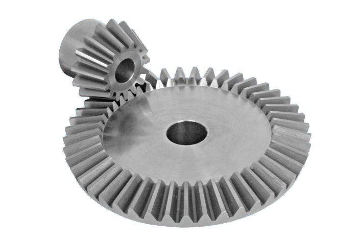 BEVEL GEARS<BR><BR>EN8 (1 : 2.5 RATIO)