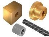 LEADSCREW NUTS - LEFT & RIGHT HAND