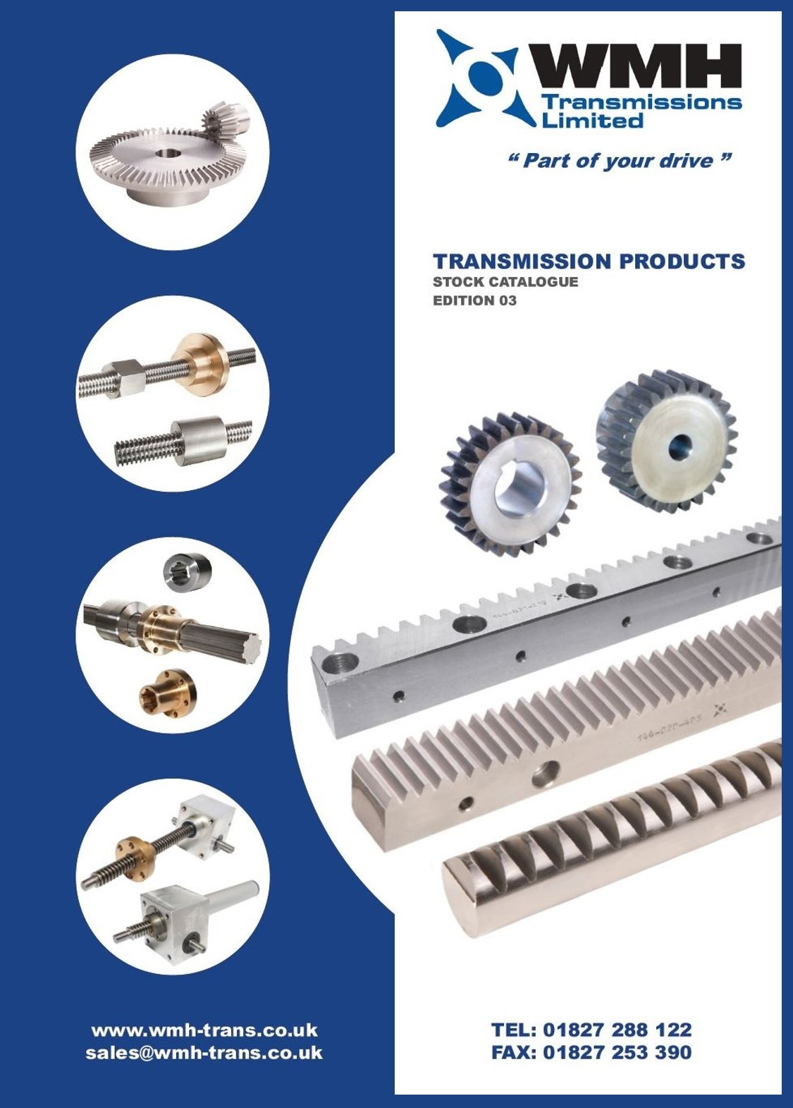 WMH TRANSMISSION PRODUCTS CATALOGUE